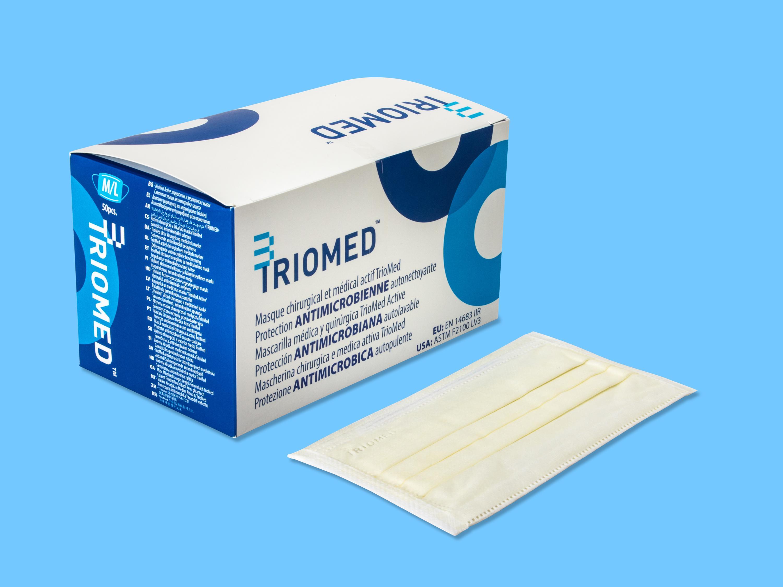 TRIOMED™-Mundschutz  - 50 Stück