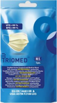 TRIOMED™-Mundschutz - 5 Stück